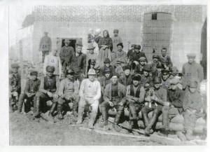 2.kuva Allasjärven sahan väestä 30-luvulla