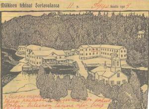 Eero Mäkisen tehtaat Sortavalassa