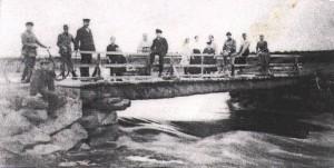 Kylätien silta Töysänjoella