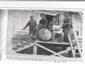 Viinikan konepajayrityksen väkeä (2)